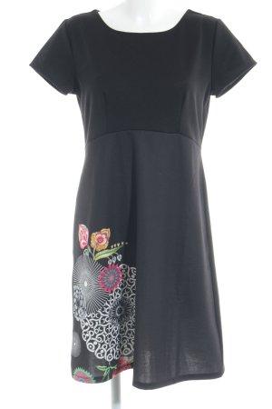 Desigual Jerseykleid schwarz Casual-Look