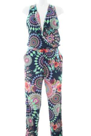 Desigual Jumpsuit Blumenmuster Casual-Look