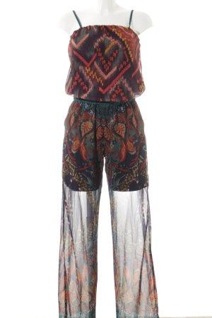Desigual Jumpsuit bloemen patroon straat-mode uitstraling