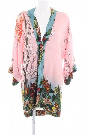 Desigual Kimono blouse bloemenprint lingerie stijl