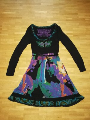 Desigual Robe multicolore viscose