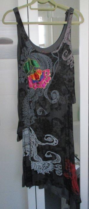 Desigual Kleid, asymetrisch, Gr. XL, 1 x getragen