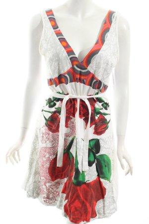 Desigual Kleid Blumenmuster extravaganter Stil