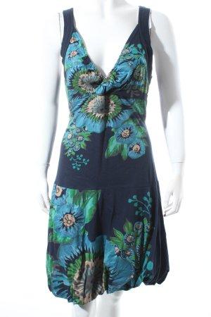 Desigual Kleid florales Muster extravaganter Stil