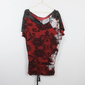 Desigual Kleid Gr. S rot locker geschnitten