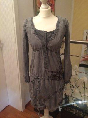 Desigual Kleid in mittelgrau
