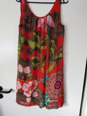 Desigual Kleid  in Rot/ Bunt D38