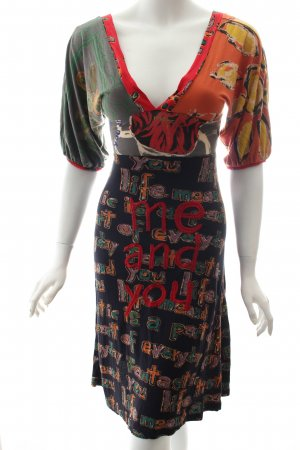 Desigual Kleid Mustermix Stickereiverzierung