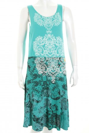 Desigual Kleid Ornamentenmuster Casual-Look
