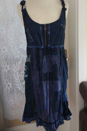DESIGUAL Kleid Sommerkleid - Marine - Größe E 46 D 42/44 Neu/ungetragen
