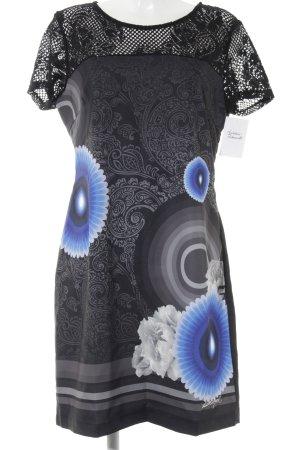 Desigual Kurzarmkleid florales Muster Street-Fashion-Look