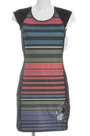 Desigual Kurzarmkleid Streifenmuster Street-Fashion-Look