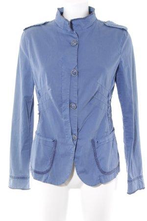 Desigual Kurzjacke blau Casual-Look