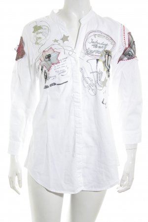 Desigual Long Sleeve Shirt abstract pattern casual look