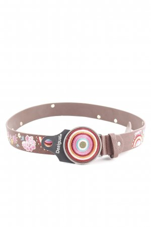 Desigual Faux Leather Belt multicolored casual look