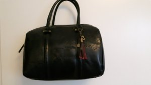 Desigual Carry Bag black leather