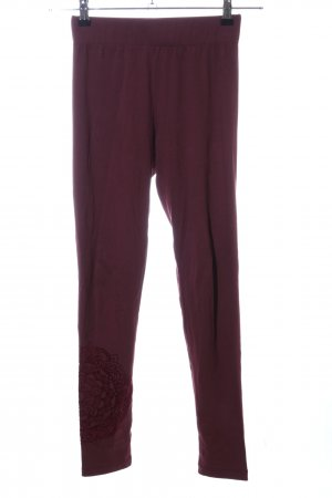 Desigual Leggings rot Casual-Look