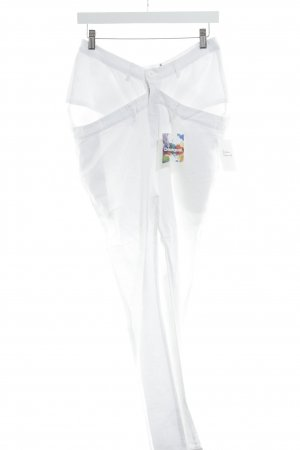 Desigual Linen Pants white street-fashion look