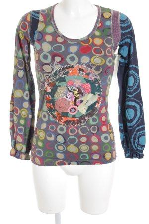 Desigual Camisa larga estampado con diseño abstracto Estilo cómic