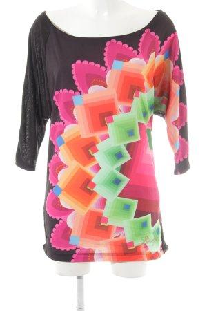 Desigual Longshirt florales Muster Casual-Look