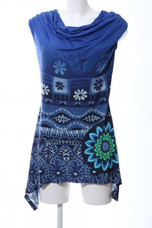 Desigual Longtop abstraktes Muster Casual-Look