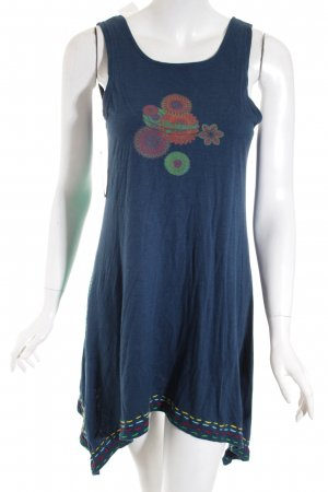 Desigual Longtop dunkelblau Beach-Look