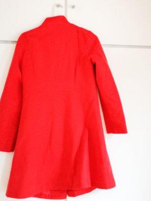 Desigual Abrigo de entretiempo rojo