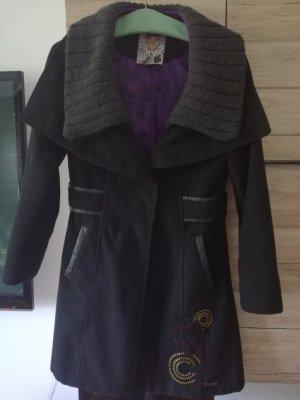 Desigual Coat Dress black