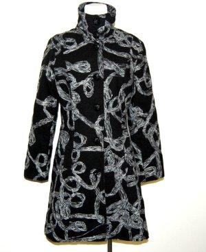 Desigual Mantel in schwarz – grau Gr. M