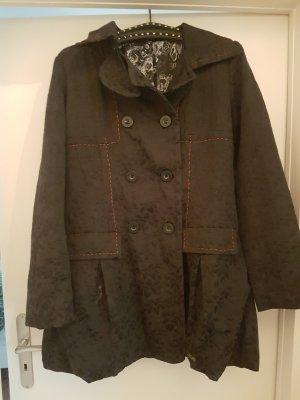 Desigual Mantel/Trenchcoat, schwarz, neu