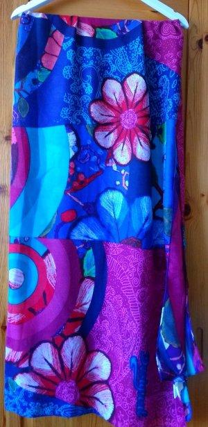 DESIGUAL Maxi Damentuch Damenschal bunt farbig schön