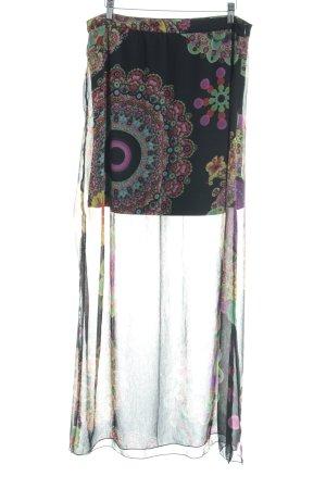 Desigual Jupe longue motif floral style extravagant