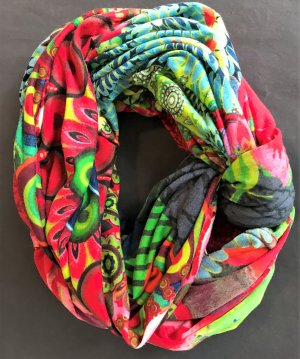 Desigual Tube Scarf multicolored