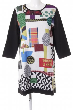 Desigual Midi Dress abstract print casual look