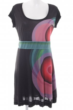 Desigual Midi Dress abstract pattern casual look