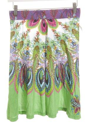 Desigual Falda midi estampado floral Estilo playero