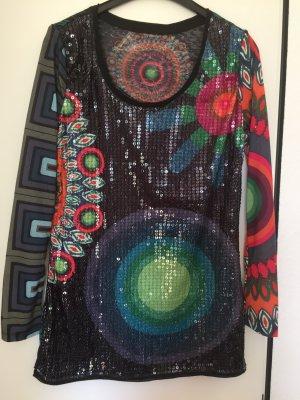 Desigual Mini Kleid/Tunika mit Pallieten, 15€