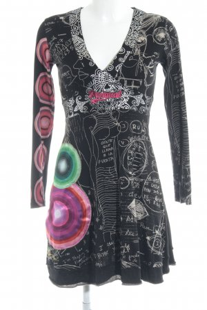 Desigual Mini Dress abstract pattern hippie style