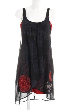 Desigual Mini-jurk bloemenprint casual uitstraling