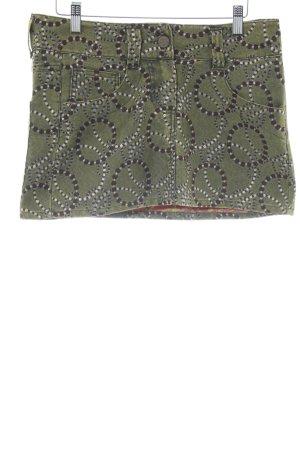 Desigual Mini-jupe motif abstrait style décontracté