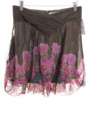 Desigual Minirock florales Muster Street-Fashion-Look