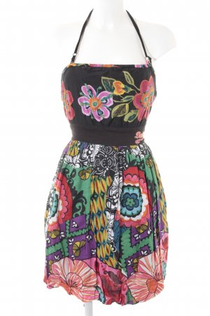 Desigual Halter Dress abstract print extravagant style