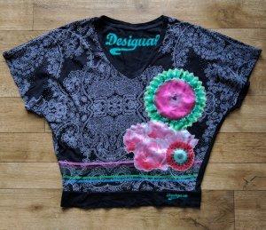 Desigual Oberteil Shirt + Pailletten