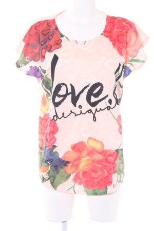Desigual Oversized shirt bloemen patroon casual uitstraling