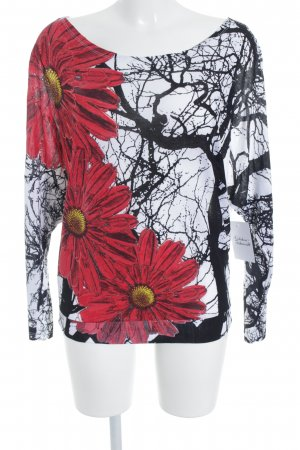 Desigual Oversized Shirt florales Muster Casual-Look