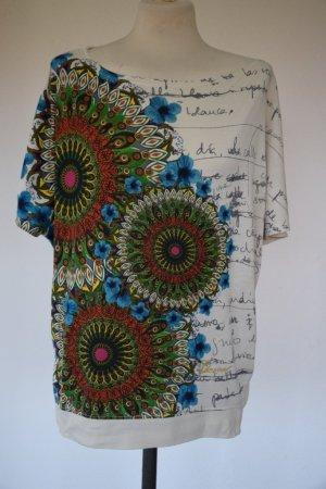 Desigual - oversized Shirt mit Mandalas Gr. S