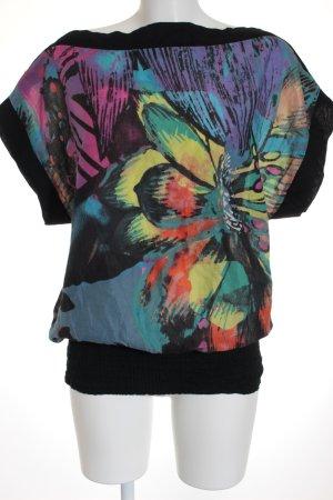 Desigual Oversized Shirt Mustermix extravaganter Stil