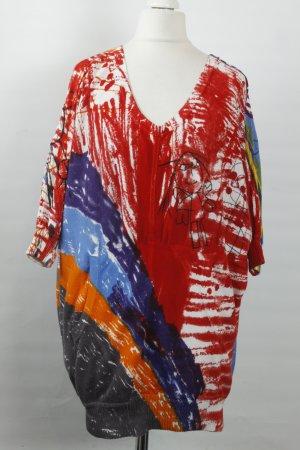 Desigual Pullover Gr. S rot gemustert