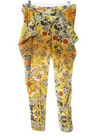 Desigual Bloomers yellow-dark yellow flower pattern casual look