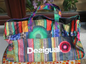 Desigual Travel Bag multicolored polyester